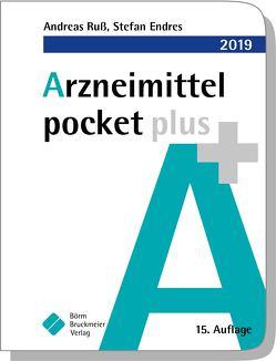 Arzneimittel pocket plus 2019 von Endres,  Stefan, Ruß,  Andreas