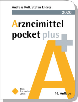 Arzneimittel pocket plus 2020 von Endres,  Stefan, Ruß,  Andreas
