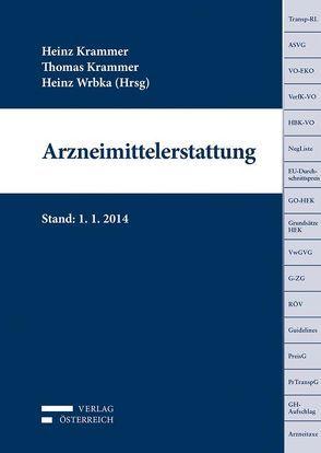 Arzneimittelerstattung von Krammer,  Heinz, Krammer,  Thomas, Wrbka,  Heinrich