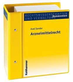 Arzneimittelrecht von Sander,  Axel