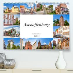 Aschaffenburg Impressionen (Premium, hochwertiger DIN A2 Wandkalender 2021, Kunstdruck in Hochglanz) von Meutzner,  Dirk