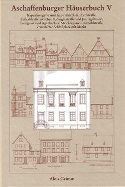 Aschaffenburger Häuserbuch / Aschaffenburger Häuserbuch V. von Ebert,  Monika, Grimm,  Alois, Holleber,  Ernst