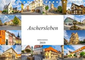 Aschersleben Impressionen (Tischkalender 2019 DIN A5 quer) von Meutzner,  Dirk