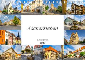 Aschersleben Impressionen (Tischkalender 2020 DIN A5 quer) von Meutzner,  Dirk