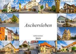 Aschersleben Impressionen (Wandkalender 2019 DIN A4 quer) von Meutzner,  Dirk