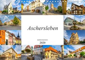 Aschersleben Impressionen (Wandkalender 2020 DIN A4 quer) von Meutzner,  Dirk