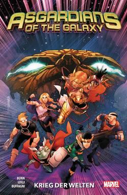 Asgardians of the Galaxy von Buffagni,  Matteo, Bunn,  Cullen