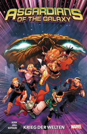 Asgardians of the Galaxy von Buffagni,  Matteo, Bunn,  Cullen, Landini,  Stefano, Lollo,  Matteo, Maresca,  Luca, Rösch,  Alexander, Villanelli,  Paolo