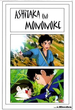 Ashitaka und Mononoke von Hermann,  Niels, Miyazaki,  Hayao