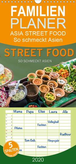 ASIA STREET FOOD – So schmeckt Asien – Familienplaner hoch (Wandkalender 2020 , 21 cm x 45 cm, hoch) von BuddhaART