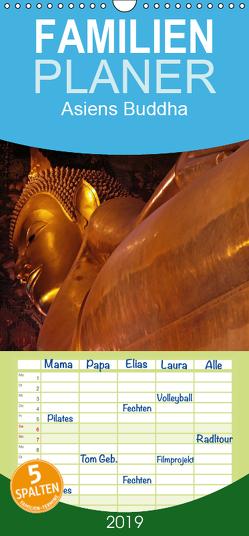 Asiens Buddha – Familienplaner hoch (Wandkalender 2019 , 21 cm x 45 cm, hoch) von G. Zucht,  Peter
