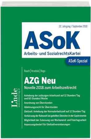ASoK-Spezial AZG Neu von Ihradska,  Veronika, Noga,  Alexander, Rauch,  Thomas