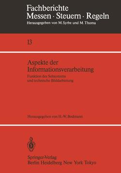 Aspekte der Informationsverarbeitung von Bodmann,  Hans-Walter