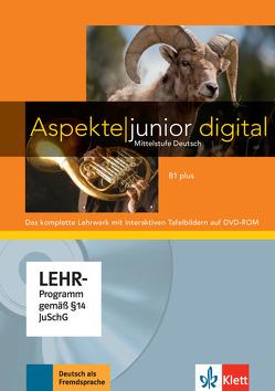 Aspekte junior B1 plus von Koithan,  Ute, Lösche,  Ralf-Peter, Moritz,  Ulrike, Ochmann,  Nana, Schmitz,  Helen, Sieber,  Tanja, Sonntag,  Ralf