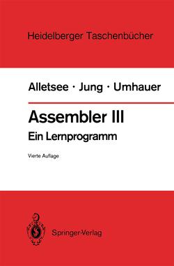 Assembler III von Alletsee,  Rainer, Jung,  Horst, Umhauer,  Gerd F., Zuse,  Konrad