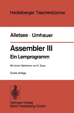 Assembler III von Alletsee,  R., Umhauer,  G., Zuse,  K.