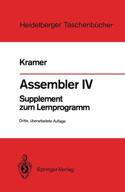 Assembler IV von Kramer,  Hasso