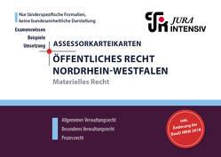 ASSEX Karteikarten Öffentliches Recht NRW – Materielles Recht von Kues,  Dr. Dirk