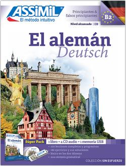 ASSiMiL El alemán – Deutschkurs in spanischer Sprache – Audio-Plus-Sprachkurs – Niveau A1-B2