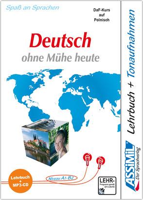 ASSiMiL Język Niemiecki łatwo i przyjemnie – Deutschkurs in polnischer Sprache – MP3-Sprachkurs – Niveau A1-B2 von ASSiMiL GmbH