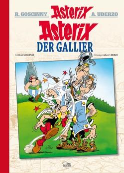 Asterix 01 Luxusedition von Goscinny,  René, Jöken,  Klaus, Penndorf,  Gudrun, Uderzo,  Albert