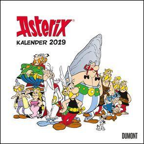 Asterix 2019 – Wandkalender im Quadratformat 24 x 24 cm von DUMONT Kalenderverlag, Uderzo,  Albert
