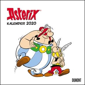 Asterix 2020 – Wandkalender im Quadratformat 24 x 24 cm von DUMONT Kalenderverlag, Uderzo,  Albert