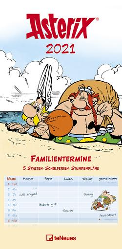 Asterix 2021 Familienplaner – Familien-Timer – Termin-Planer – Kids – Kinder-Kalender – Familien-Kalender – 22×45 von Uderzo,  Albert