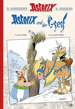 Asterix 39 Luxusedition von Conrad,  Didier, Ferri,  Jean-Yves, Jöken,  Klaus