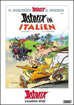 Asterix-Comiccover-Kalender 2019 – Wandkalender – Format 29,5 x 42,0 cm von DUMONT Kalenderverlag, Uderzo,  Albert