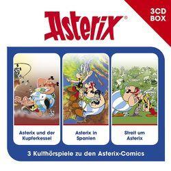 Asterix – Hörspielbox Vol. 5 von Goscinny,  René, Penndorf,  Gudrun, Uderzo,  Albert, Wakonigg,  Daniela