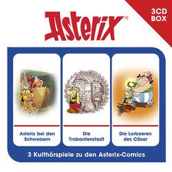 Asterix – Hörspielbox Vol. 6 von Goscinny,  René, Penndorf,  Gudrun, Uderzo,  Albert, Wakonigg,  Daniela