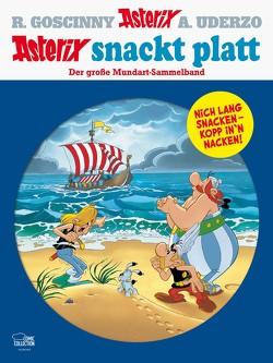 Asterix snackt Platt von Cyriacks,  Hartmut, Goltz,  Reinhard, Goscinny,  René, Nissen,  Peter, Ruge,  Jürgen, Uderzo,  Albert