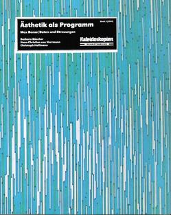 Ästhetik als Programm von Büscher,  Barbara, Hoffmann,  Christoph, von Herrmann,  Hans-Christian