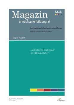 """""""Ästhetische Erziehung""""  im Digitalzeitalter von Medosch,  Armin, Vater,  Stefan, Zwerger,  Ina"""