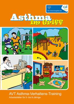 Asthma im Griff – Arbeitsblätter für 5-8 jährige von Biberger,  Angelika, Klocke,  Martin, Lecheler,  Josef, Petermann,  Franz, Pfannebecker,  Bernhard