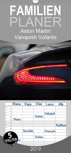 Aston Martin Vanquish Volante – Familienplaner hoch (Wandkalender 2019 , 21 cm x 45 cm, hoch) von Wolff,  Juergen