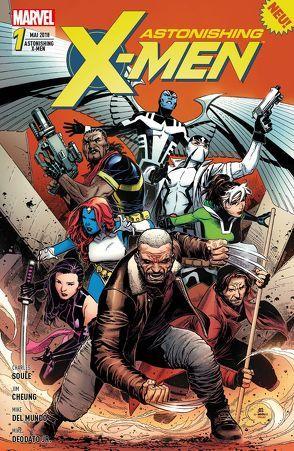 Astonishing X-Men von Cheung,  Jim, Del Mundo,  Mike, Deodato Jr.,  Mike, McGuinness,  Ed, Pacheco,  Carlos, Petz,  Jürgen, Rosanas,  Ramon, Soule,  Charles