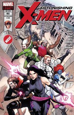 Astonishing X-Men von Aco, Buffagni,  Matteo, Ganey,  Ron, Noto,  Phil, Petz,  Jürgen, Sandoval,  Gerardo, Siqueira,  Paulo, Soule,  Charles