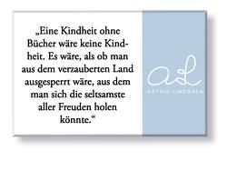 """Astrid Lindgren Magnet """"Kindheit"""" von Lindgren,  Astrid"""