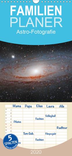 Astro-Fotografie – Familienplaner hoch (Wandkalender 2020 , 21 cm x 45 cm, hoch) von Muckenhuber,  Stefan