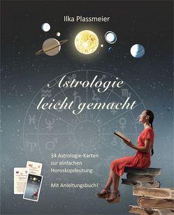 Astrologie leicht gemacht von Plassmeier,  Ilka