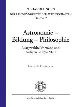 Astronomie – Bildung – Philosophie von Herrmann,  Dieter B.