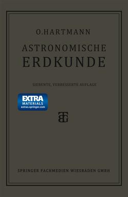 Astronomische Erdkunde von Hartmann,  Prof. Otto