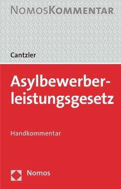 Asylbewerberleistungsgesetz von Cantzler,  Constantin