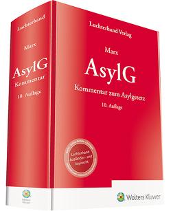 AsylG – Kommentar zum Asylgesetz von Marx,  Reinhard
