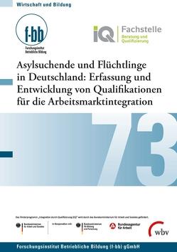 Asylsuchende und Flüchtlinge in Deutschland von Goth,  Günther G., Severing,  Eckart