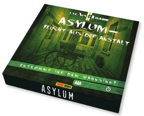 Asylum – Flucht aus der Anstalt von Iscan,  Virgile, Kasprzak,  Andreas, Witjes,  Kordula