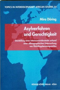 Asylverfahren und Gerechtigkeit von Döring,  Mira