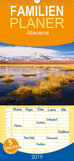 Atacama: Karge Wüste, mächtige Vulkane und farbenprächtige Lagunen – Familienplaner hoch (Wandkalender 2019 , 21 cm x 45 cm, hoch) von Aust,  Gerhard